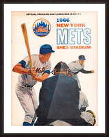 1966 New York Mets Picture Frame print