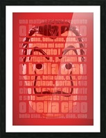Bella Ciao Picture Frame print