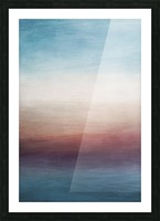 Misty Horizon 01 - Abstract Wall Art Picture Frame print