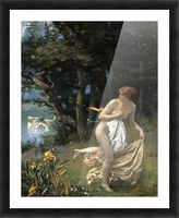 Diana's Maidens Picture Frame print