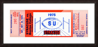 1975 Syracuse vs. Boston College Picture Frame print