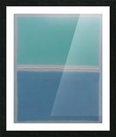 Arctic Sea Picture Frame print
