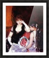 In the Loge by Renoir Picture Frame print