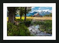 T.a. Moulton Barn - Grand Teton Picture Frame print