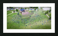 Lakeside High Class of 2020   Graduation Aerial View 0728 05 30 20 Picture Frame print