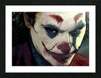 JOKER Joaquin Phoenix Picture Frame print