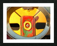 Rusted Love Picture Frame print