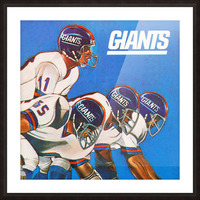 new york giants gift ideas Picture Frame print