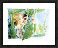 A beautiful flowe by Alma-Tadema Picture Frame print
