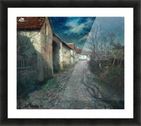 Moonlight in Beaulieu Picture Frame print