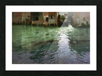 Water Mill Picture Frame print