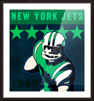 1969 new york jets Picture Frame print