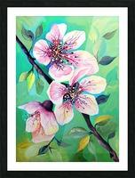 Japanese Sakura Cherry Blossom  Picture Frame print
