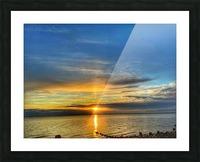 Ocean Sunsets Impression et Cadre photo