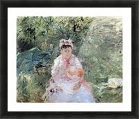 Julie Manet by Morisot Picture Frame print