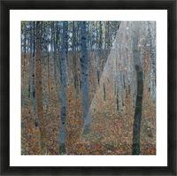Klimt - Beech Grove I Picture Frame print