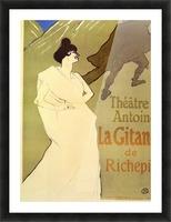La Gitane de Rechepin by Toulouse-Lautrec Picture Frame print