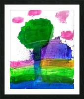 Myona tree Picture Frame print