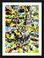 Clown_watercolor_a Picture Frame print