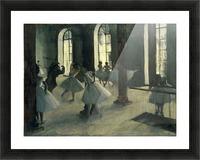 La Repetition au foyer de la danse by Degas Picture Frame print