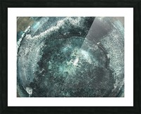 Crystal Midnights in Indigo Picture Frame print