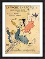 La vache enragee by Toulouse-Lautrec Picture Frame print