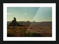 Desert Scene Sunset Picture Frame print