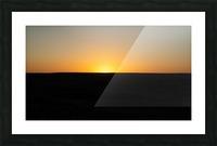 Desert Sunset Picture Frame print