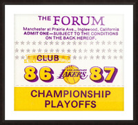 the forum inglewood california lakers gift ideas Picture Frame print