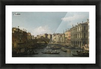 Venice, a view of the Piazza San Marco looking East towards the Basilica Picture Frame print