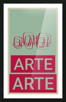 ARTE -4  Picture Frame print