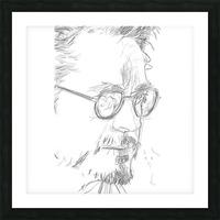 Robert Downy Jr. - Celebrity Pencil Art Impression et Cadre photo