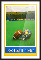 1984 colorado buffaloes football Picture Frame print