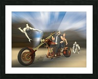 Desert Ride Picture Frame print