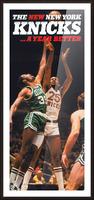 1980 new york knicks poster bill cartwright cedric maxwell Picture Frame print
