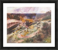 Landscape in Wargemont by Renoir Picture Frame print