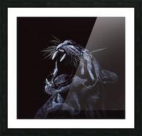 OCELOT_COLOR PENCIL_64.40X54.20 Impression et Cadre photo