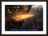 Vintage Allen Field House KU Basketball Photos Picture Frame print