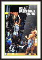 1986 ucla basketball reggie miller poster Picture Frame print