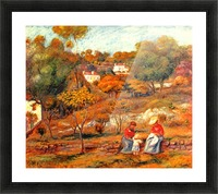 Landscape with Cagnes Picture Frame print