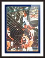 1984 johnny dawkins duke basketball dunk poster (1) Picture Frame print