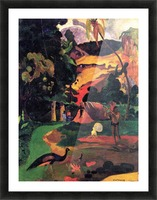 Landscape With Peacocks by Gauguin Picture Frame print