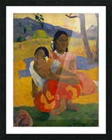Paul Gauguin: When Will You Marry HD 300ppi Picture Frame print