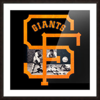 Vintage San Francisco Giants Acrylic Wall Art Sign Picture Frame print