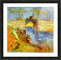 Langlois by Van Gogh Picture Frame print