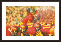 row one brand vintage 1976 national champions usc football art Picture Frame print