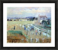 Laundry drying by Morisot Picture Frame print