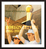 1986 Bird and McHale Picture Frame print