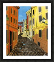 Colours of Europe Picture Frame print