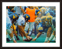 1981 College Football Photo West Virginia Pitt Panthers Wall Art Picture Frame print